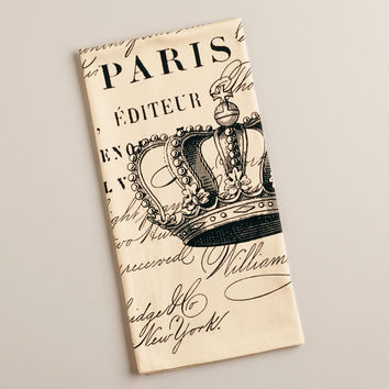 Paris Royale Kitchen Towel - World Market