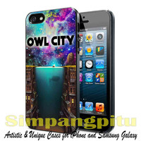Owl city nebula sky cover album case for iPhone 4/4S/5/5S/5C Case, Samsung Galaxy S3/S4/S5 Case, iPod Touch 4/5 Case
