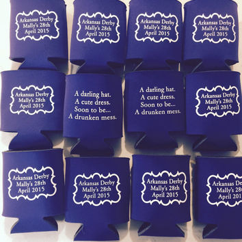 Can Koozies, free shipping, custom, can cooler, gift, the360shop, wedding favors, favors, wedding, gifts for guests, summer wedding, coozies
