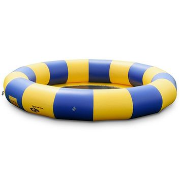 Party Time 15 ft Inflatable Water Bounce Jump Floated Water Trampoline