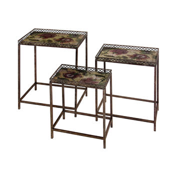 Le Fleur Nesting Tables - Set of 3