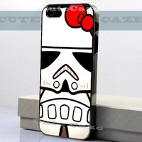 Stormtrooper Hello Kitty - iPhone 4/4S Case - iPhone 5 Case - Samsung Galaxy S3 case - Samsung Galaxy S4 case