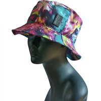 Color Splash Printed Bucket Hat