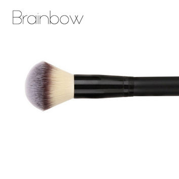 Black Powder Blush Brush High Quality 3 colors Nylon Hair Professional  Cosmetics Makeup Brushes Foundation Make Up Beauty Tools
