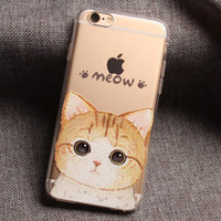 Meow Cat iPhone 7 7 Plus & iPhone 6 6s Plus & iPhone 5s se Case Personal Tailor Cover + Gift Box-474