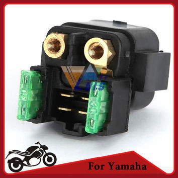 Partol Motorcycle Starter Relay Solenoid Switch for Yamaha GRIZZLY 660 BRUIN 350 YFZ450 45 YFM660/350/400/450250/350 V-MAX 700