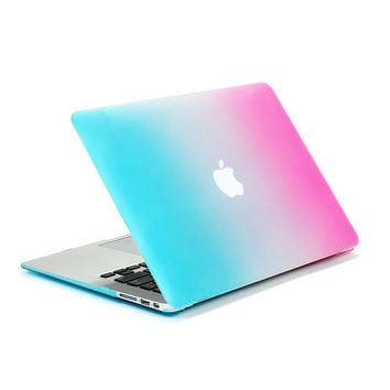 Rainbow Matte Case For Apple Macbook