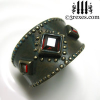 3 Wishes Medieval Brass Ring