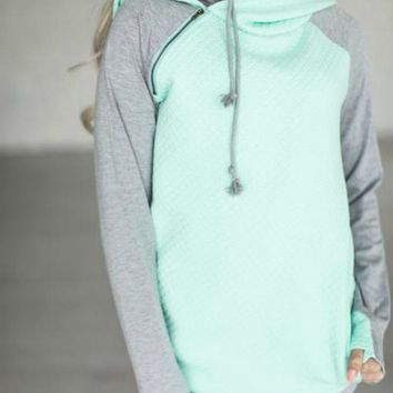 Day In Hoodie - Green