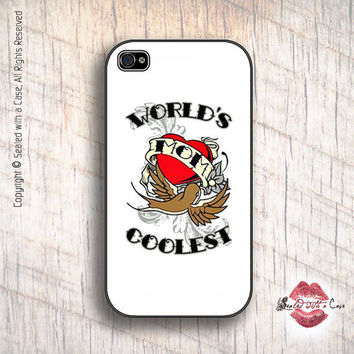 World's Coolest Mom - iPhone 4 Case, iPhone 4s Case and iPhone 5 case,  Samsung Galaxy II and III