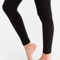 Faux Fur-Lined Cozy Footless Tight | Urban Outfitters