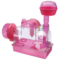 Pink Princess Hamster Cage - Large