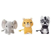 Happy Go Luckys Limited Edition Safari Squad Stuffed Animals, Set of 3