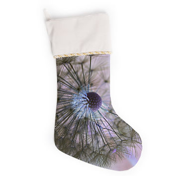 "Alison Coxon ""Dandelion Clock"" Christmas Stocking"