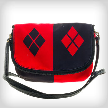 Harley Quinn Diamond Crossbody Bag