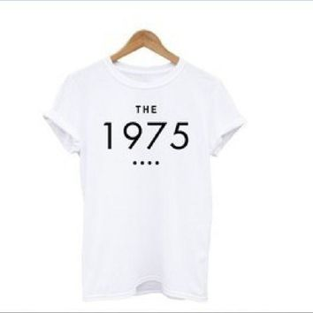 ESBIH3 [The 1975] English short-sleeved T-shirt personalized lovers