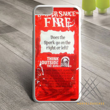 Taco bell sauce packet design Custom case for iPhone, iPod and iPad