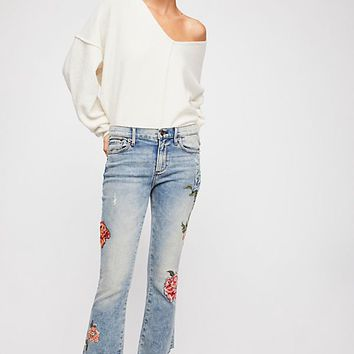 Driftwood Roxy Crop Flare Jeans