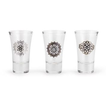 Embellished Shot Glasses by Demdaco