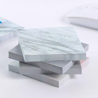 DCCKL72 1 pcs Creative marbling texture memo pad paper Post-it notes sticky notes notepad kawaii stationery school supplies kids gifts