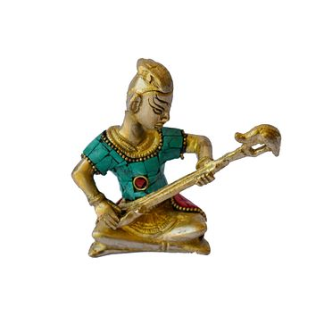 Metal-Sculpture-Tribal-Music-Band-Brass-Art