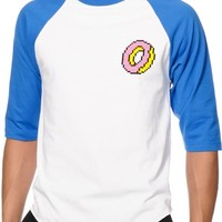 Odd Future Digital Donut Baseball T-Shirt