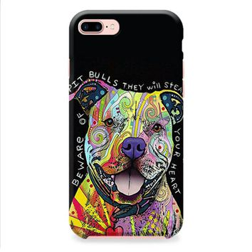 Dog Abstract Pitbull iPhone 8 | iPhone 8 Plus Case