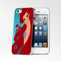 Disney Princess Little Mermaid Ariel Blue iPhone 4s iphone 5 iphone 5s iphone 6 case, Samsung s3 samsung s4 samsung s5 note 3 note 4 case, iPod 4 5 Case