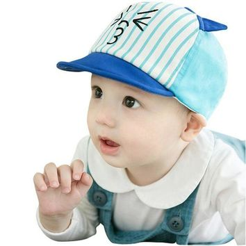 PEAP78W 2017 Fashion Toddler Kids Infant Sun Cotton Blend Cap Summer Cute Baby Girls Boys Sun Lovely Beach Hat