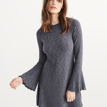 Womens Ribbed Knit Dress | Womens Dresses & Rompers | Abercrombie.com