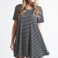 Striped All Over Dress