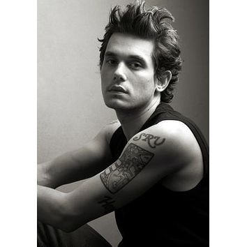 John Mayer Poster Standup 4inx6in