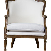Baxton Studio Charlemagne Accent Chair