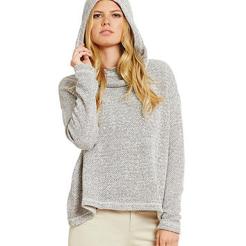 Eileen Fisher Hooded Box-Top | Dillards