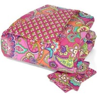 Vera Bradley Vera Bradley Reversible Comforter Set Full/Queen in Pink Swirls from Vera Bradley | BHG.com Shop