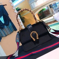 fashion Gucci bag  Women Shopping Leather Tote Handbag Shoulder Bag