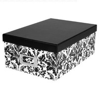Photo Box in Damask Pattern by Pioneer Photo Albums