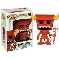 Futurama Pop! Vinyl Figure - Robot Devil : Forbidden Planet