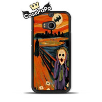 Scream Batman Joker Edvard Munch Case For HTC One M9 M8 mini M7 X S Desire 820 816 For Motorola Moto G2 G X2 X E Classic Funny