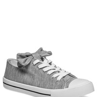 Big Bow Classic Lace-Up Sneakers | Wet Seal