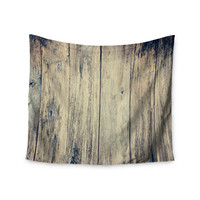 "Beth Engel ""Wood Photography II"" Wall Tapestry"