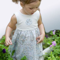Organic Cotton Girl's Dress - 12 to 18 mo.