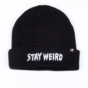 Glamour Kills - STAY WEIRD Beanie