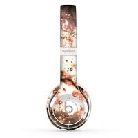 The Bright Gold Cloudy Lights Skin Set for the Beats by Dre Solo 2 Wireless Headphones