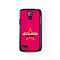 Celebrity Hater Black Hard Plastic Case for Samsung Galaxy S4 Mini by Chargrilled