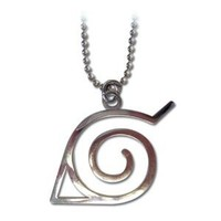 Naruto: Leaf Symbol Necklace