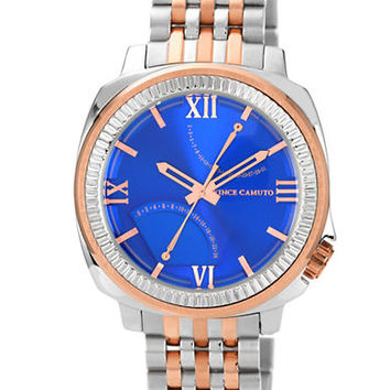 Vince Camuto Mens Veteran Two-Tone Watch