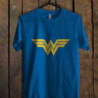 Wonder Woman Blue For Mens T Shirt and Womens T Shirt *76*