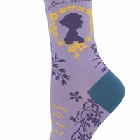 Jane Austen Women's Crew Socks