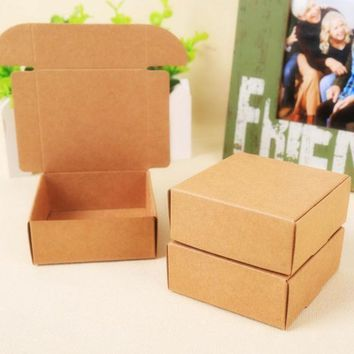 2015 Natural Kraft Paper Gift Box For Weddingbirthday And Christmas Party Gift Ideasgood Quality For Cookie/candy28 Styles